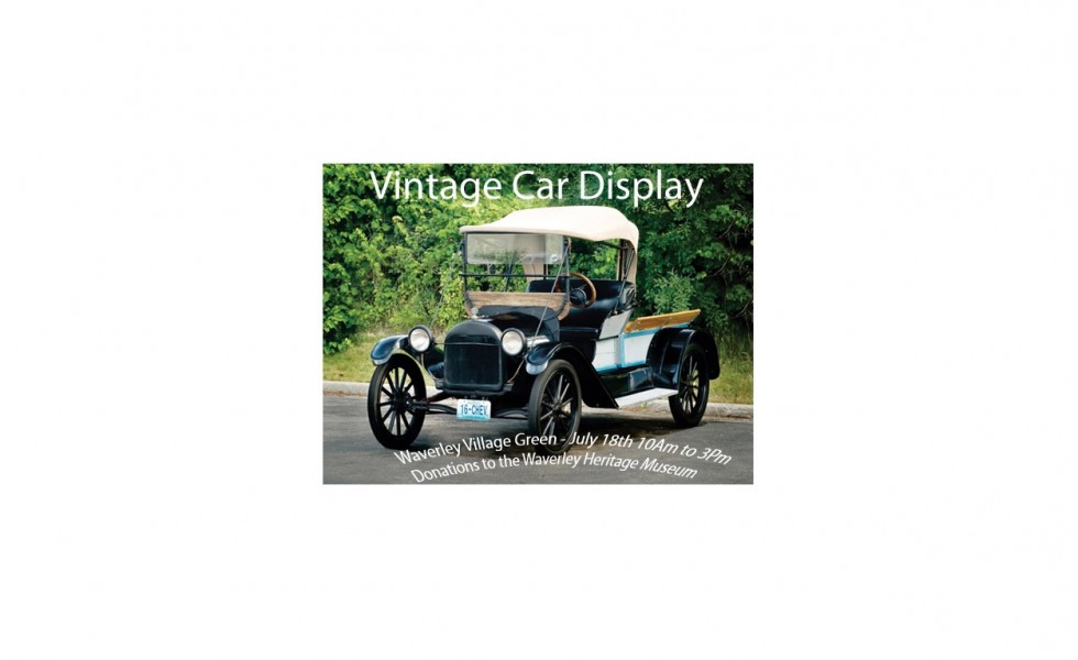 car poster for display